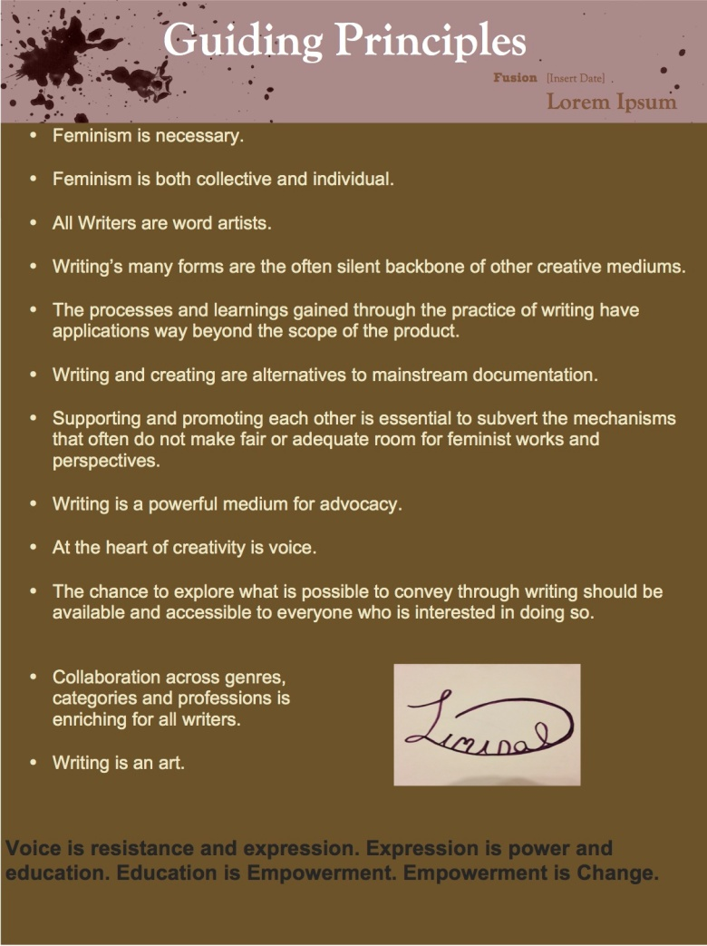 2nd page principles