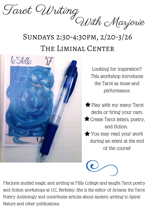 Tarot Writing Workshop